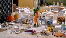 Het ontbijtbuffet van Hotel Arenzano is elke morgen tot in de puntjes verzorgd
