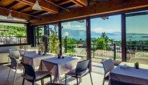 Het gezellige terras van Hotel Belvedere