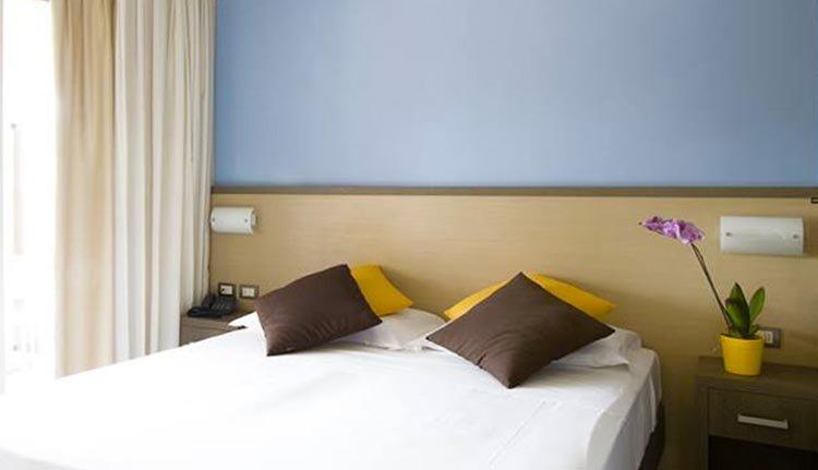 De kamers in Hotel Belvedere zijn comfortabel