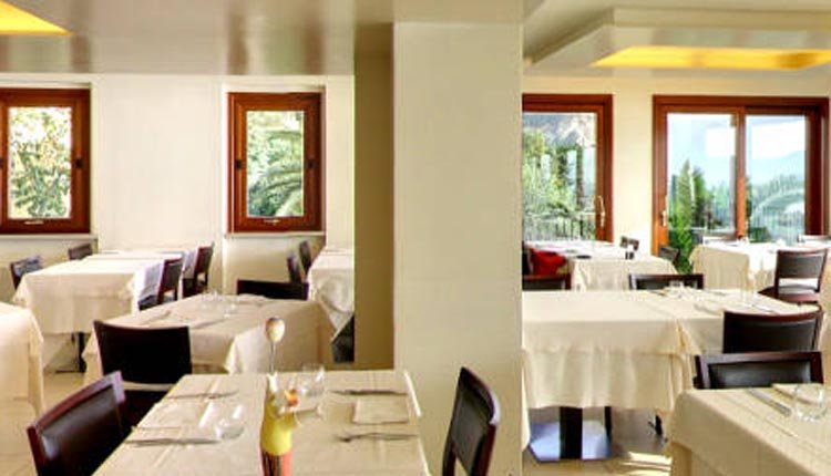 Het restaurant in Hotel Meandro