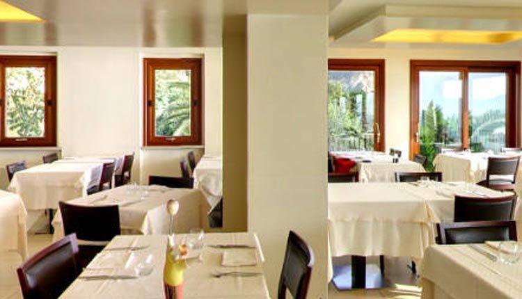 Het restaurant in Hotel Meandro