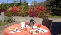 Genieten van een heerlijk ontbijt in Hotel Cortese