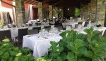 Het restaurant van Hotel Cortese