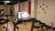 De fitness van Hotel Cortese