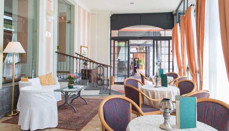 De bar van Hotel San Gottardo