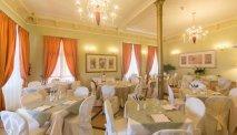 Het restaurant van Hotel San Gottardo