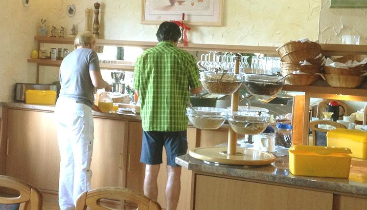 Start de dag met een heerlijk Duits ontbijtje bij Hotel Riesberghof