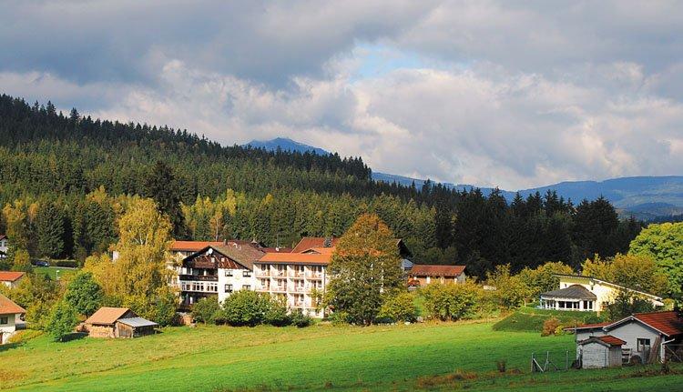 Hotel Riesberghof is prachtig gelegen