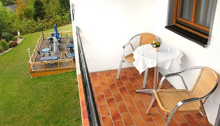 Hotel Riesberghof - 2-persoonskamer met balkon