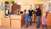 De receptie van Hotel Riesberghof