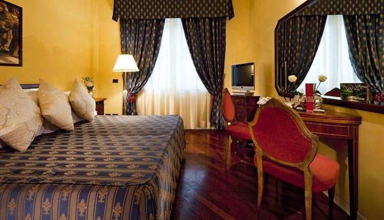 De kamers van Hotel Primavera zijn sfeervol ingericht
