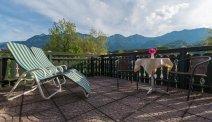 Geniet van het fantastische bergzicht vanaf het terras is Hotel Goisererhof