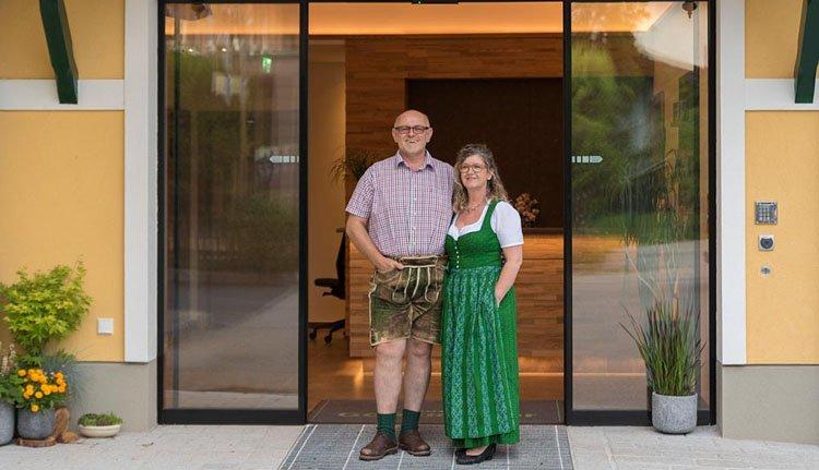 De gastvrije familie heet u welkom in Hotel Goisererhof