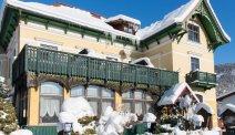 Hotel Goisererhof in de sneeuw... een mooi plaatje
