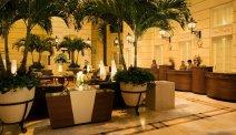 De mooie lobby van Hotel Polonia Palace