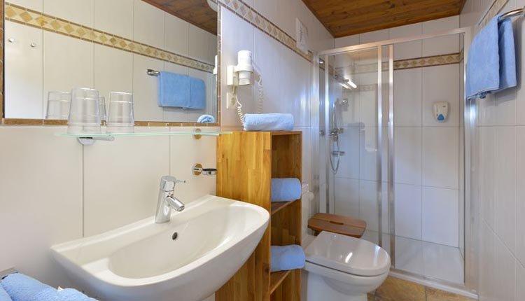 Gasthof Baumgarten - badkamer