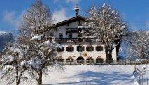 Gasthof Baumgarten is een plaatjes in de sneeuw
