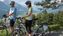 In de omgeving van Gasthof Baumgarten kunnen fietsliefhebbers hun hart ophalen