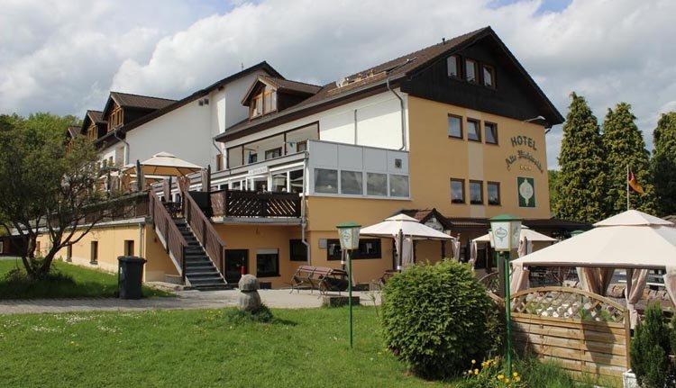 Hotel Alte Viehweide - terras