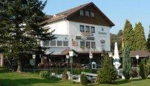 Hotel Alte Viehweide -terras in de tuin