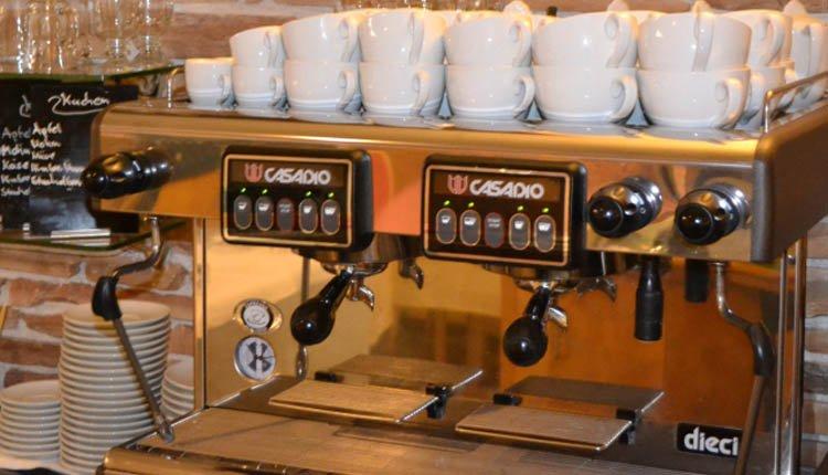 Parkhotel Flora - zalige koffie