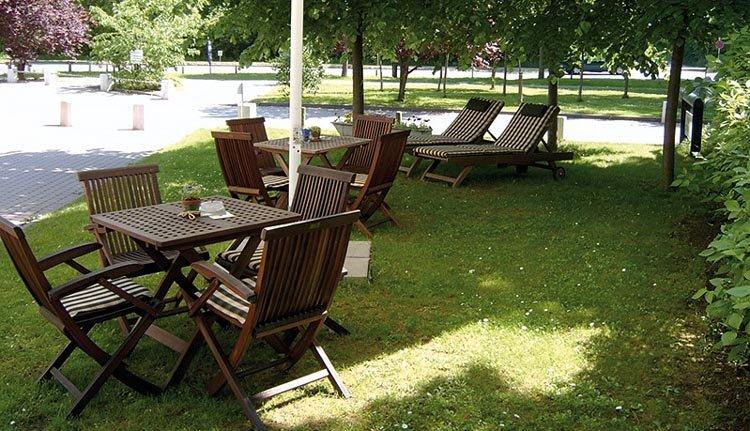 Leonardo Hotel Weimar - tuin