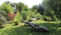 De heerlijke relaxtuin van Gasthof Zinkenbachmühle