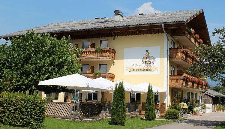 Gasthof Zinkenbachmühle in Abersee, vlakbij de Wolfgangsee
