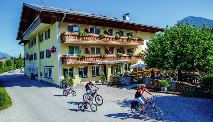 U kunt fietsen lenen bij Gasthof Zinkenbachmühle