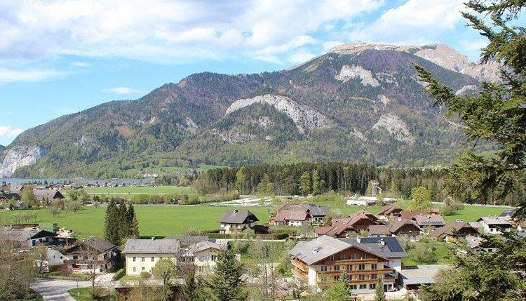 Gasthof Zinkenbachmühle is omgeven door een prachtig landschap