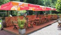 Gasthof Zinkenbachmühle met gezellige Biergarten