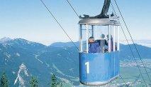 De Laber Bergbahn ligt vlakbij Hotel Turmwirt
