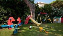De speeltuin bij Hotel Versilia Palace