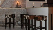 De leuke bar in Hotel Hezelhof