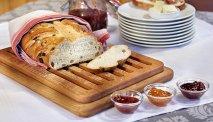 Elke morgen staat er een uitgebreid ontbijtbuffet klaar in Hotel Zum Goldenen Ochsen