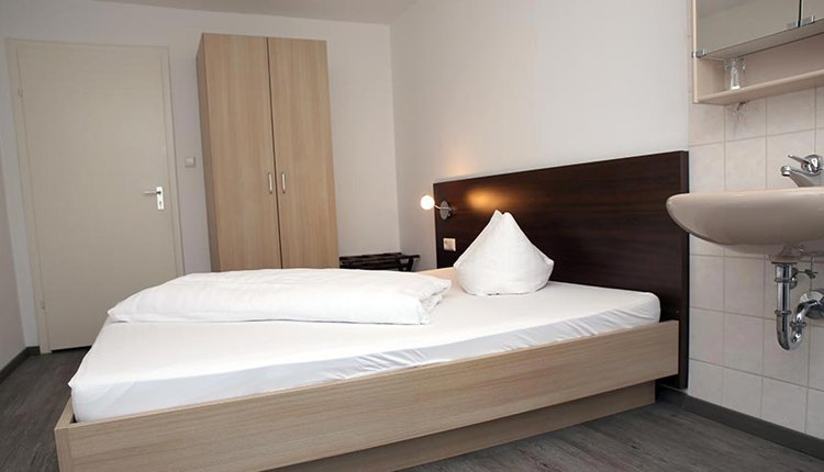 De kamers in Hotel Traube zijn comfortabel