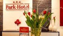 De receptie van Park-hotel Traben-Trarbach