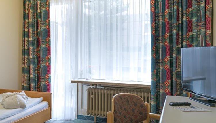 De kamers van Hotel Am Rosengarten zijn comfortabel