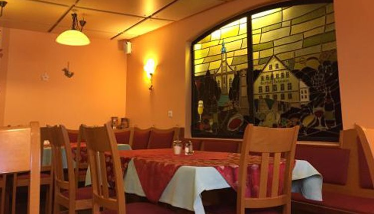 Het restaurant van Gasthof Hohmann