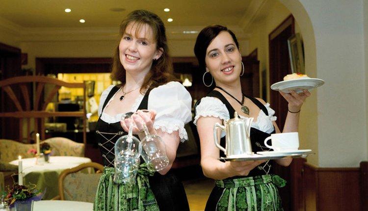 Het sfeervolle restaurant van Hotel Friederike
