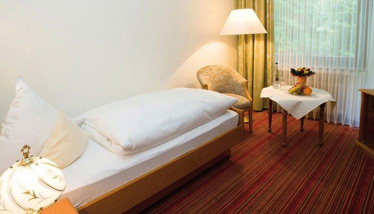 De kamers van Hotel Friederike zijn comfortabel