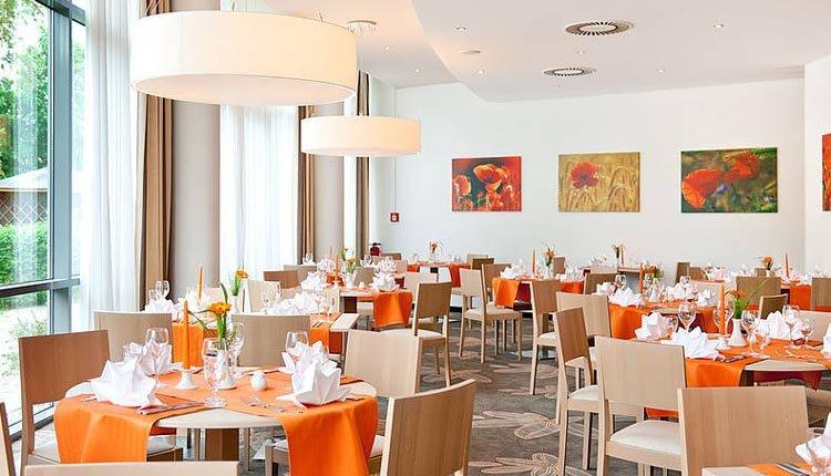 Het restaurant van Hotel Rugen