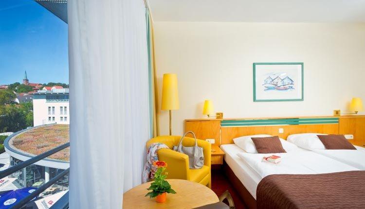 De comfort-kamers in Hotel Rugen zijn tot in de puntjes verzorgd