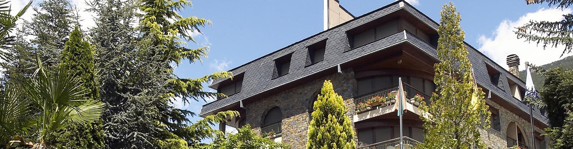 Hotel Guillem middenin Andorra