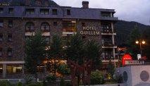 Hotel Guillem in Encamp, middenin Andorra
