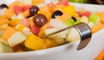 Hotel Park Inn - vers fruit bij het ontbijt