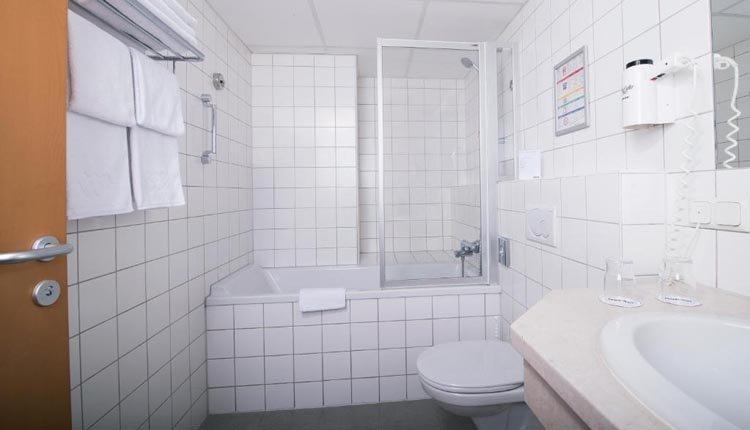 Hotel Park Inn - badkamer