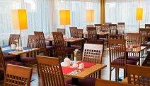 De ontbijtzaal van Hotel Park Inn