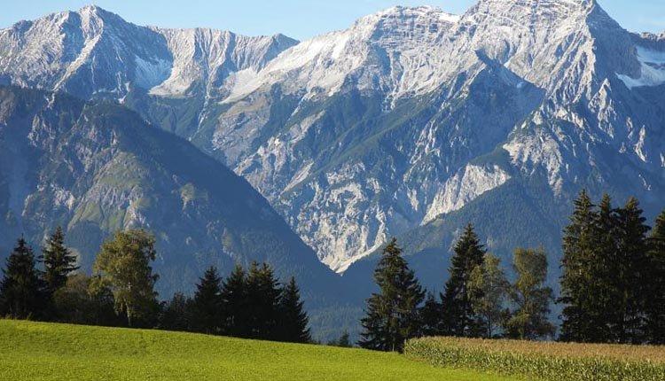 Prachtige ligging van Ferienhotel Geisler