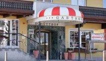 De entree van Hotel Schütthof